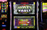 A view of the Money Vault slot machine at Bally Technologies Thursday, March 29, 2012.