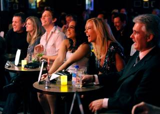 Kate Gosselin in the audience at Brad Garrett's Comedy Club VIP Grand Opening at MGM Grand on Thursday, March 29, 2012.