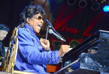 Little Richard headlines Viva Las Vegas Rockabilly Weekend at The Orleans on Saturday, March 30, 2013.