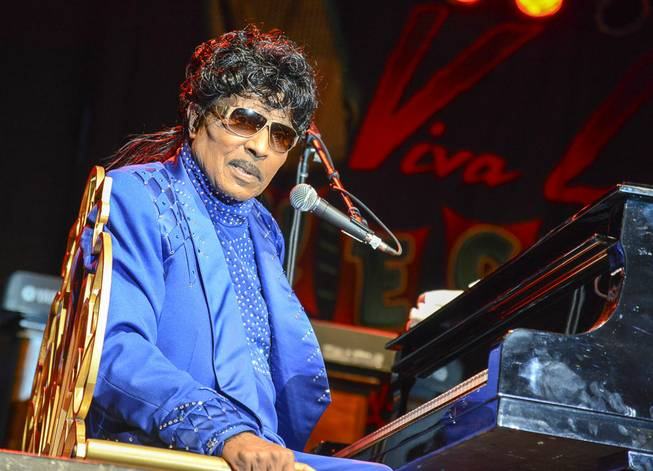 Little Richard headlines Viva Las Vegas Rockabilly Weekend at The ...