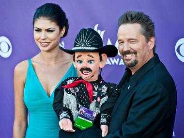 Congratulations to our good friend Terry Fator, the Mirage headliner impressionist who celebrates his 3rd anniversary with a special show ...