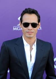 Marc Anthony arrives at the 47th Annual Academy of Country Music Awards at MGM Grand Garden Arena on Sunday, April 1, 2012.