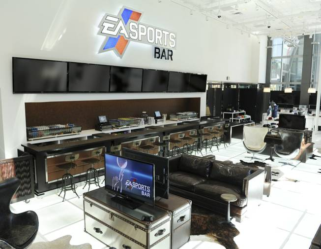 EA Sports Bar located inside the Cosmopolitan.