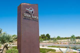A view of the Craig Ranch Regional Park, currently under construction, Wednesday April 4, 2012.