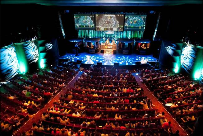 IPL4, a professional video game competition, is scheduled to begin at 9 a.m. Friday, April 6, 2012, at the Cosmopolitan. This image is from IPL3.