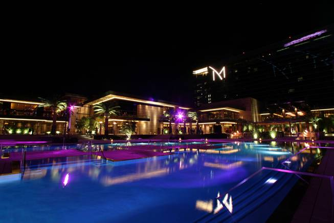 The M Resort, shown in this file photo, is in the news after the head of the General Services Administration resigned over criticism of a lavish agency conference at the Henderson hotel and casino.