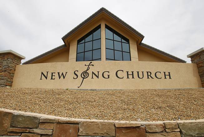 The New Song Church, 1291 Cornet Dr.  in Henderson Thursday, April 5, 2012.