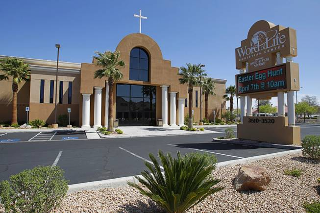 Word of Life Christian Center, 3520 N. Buffalo Drive, Thursday, April 5, 2012.