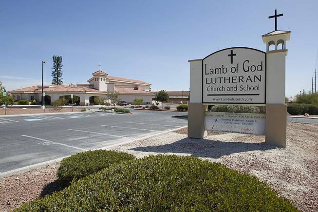 Lamb of God Lutheran Church, 6220 North Jones Blvd., Thursday, April 5, 2012.