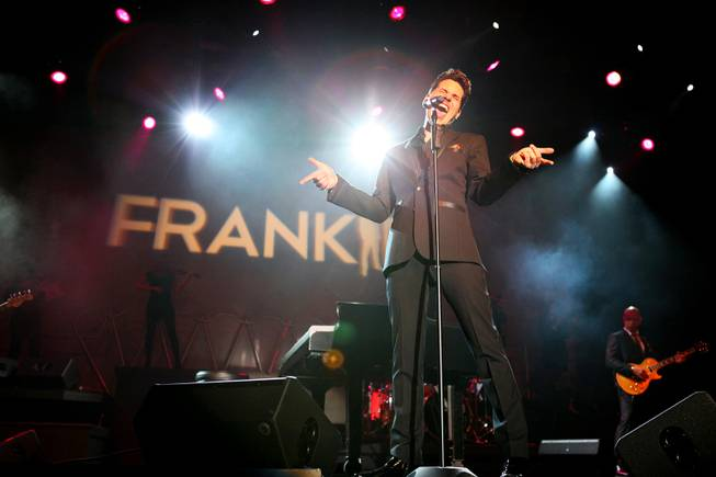 Frankie Moreno performs at the Stratosphere on Thursday, April 5, 2012.