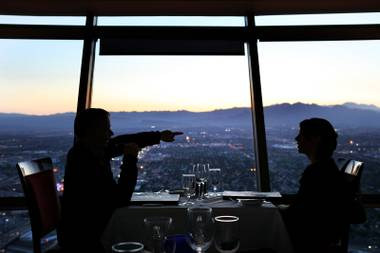 Restaurant review and reservation website OpenTable.com has named three Las Vegas eateries on its list of the Top 100 Scenic View Restaurants released today.