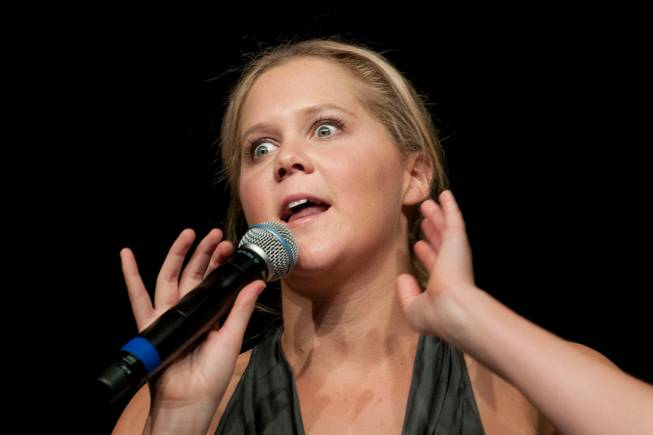 "Comedienne Amy Schumer has worked her way up the ranks to her own ""Comedy Central"" special and headlining gigs on the Strip."