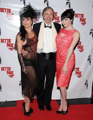 Melody Sweets, Mark Mori and Claire Sinclair on the