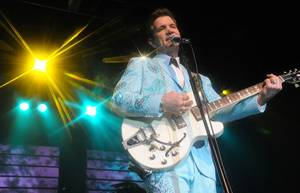 Chris Isaak performs at Grand Events Center at Green Valley Ranch on Saturday, April 7, 2012.
