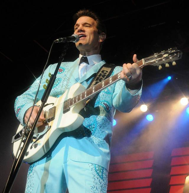 Chris Isaak performs at Grand Events Center at Green Valley ...