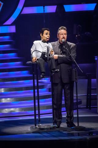 Terry Fator's 3rd anniversary at the Mirage on Sunday, April 8, 2012.