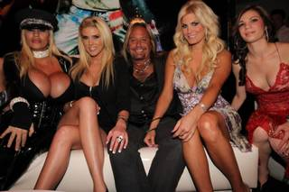 The VIP grand opening of the strip club Vince Neil's Girls, Girls, Girls on Friday, April 13, 2012.