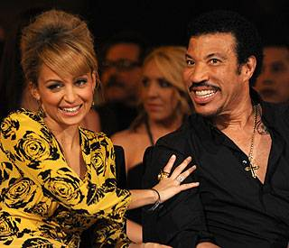 Nicole Richie and Lionel Richie at