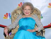"FILE - In this Jan. 8, 2012 file photo, actress Betty White is shown prior to the taping of ""Betty White's 90th Birthday: A Tribute To America's Golden Girl"" in Los Angeles. White's new, ""Betty White's Off Their Rockers,""  a hidden camera show premieres April 4, at 8 p.m. on NBC."