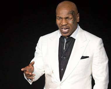 "Mike Tyson's introspection, talking of being a husband and parent, has always belied his glowering image as one of the storied heavyweights in boxing history. It is that quality that has made his autobiographical one-man show, ""Undisputed Truth,"" a hit ..."
