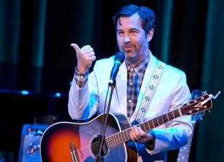 Duncan Sheik and Suzanne Vega at Cabaret Jazz in the Smith Center for the Performing Arts on Sunday, April 15, 2012.