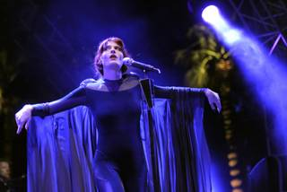 Florence Welch of Florence + the Machine performs during the first weekend of the 2012 Coachella Valley Music and Arts Festival in Indio, Calif., on Sunday, April 15, 2012.
