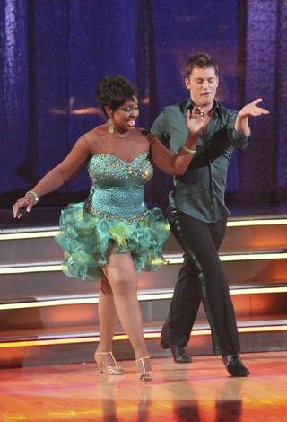 Gladys Knight and Tristan MacManus on ABC's