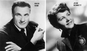 Buck Ram and Jean Bennett