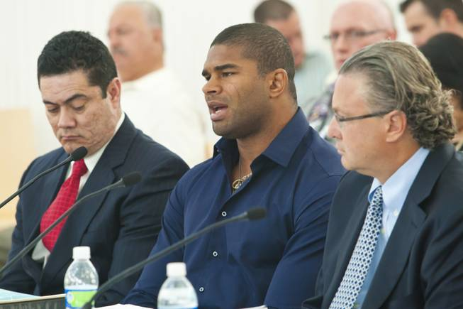 Alistair Overeem Goes Before Athletic Commission