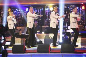 "Imperial Palace headliners Human Nature on ABC's ""Dancing With the Stars"" on Monday, April 23, 2012."