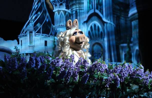 Miss Piggy at Day 2 of CinemaCon at Caesars Palace on Tuesday, April 24, 2012.