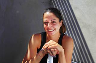 UNLV tennis player Lucia Batta is seen Tuesday, April 24, 2012.