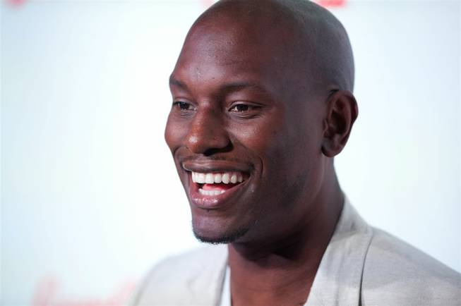 Tyrese Gibson at Day 4 of CinemaCon at Caesars Palace on Thursday, April 26, 2012.