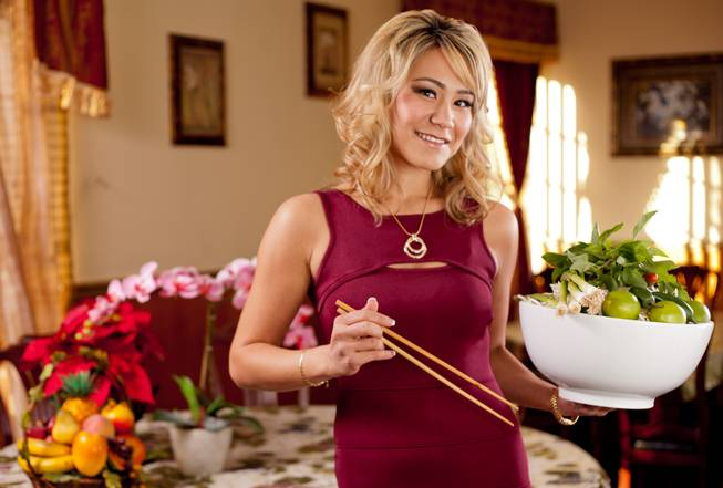 Las Vegas resident Miki Sudo won $1,510 at Pho 87 by eating 7 pounds of Pho in 67 minutes.