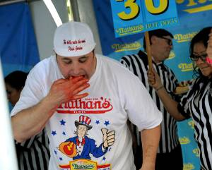 2012 Nathan's Famous Hot Dog Eating Championship Qualifying