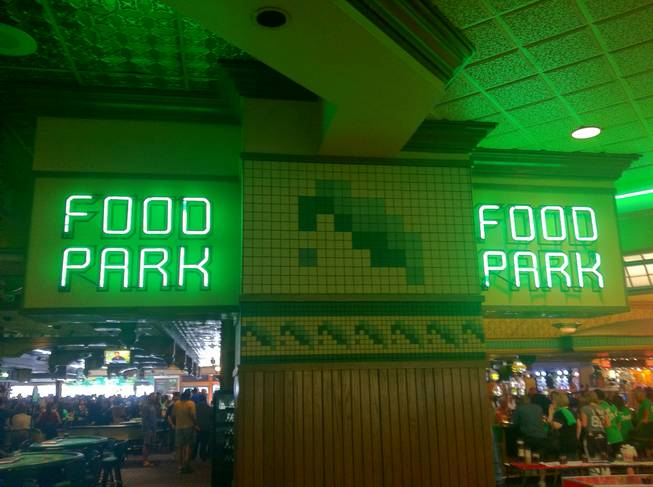 The Food Park, heavy on the food and light on the park, at O'Sheas.