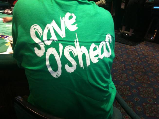 "T-shirts imploring ""Save O'Sheas"" have not succeeded in sparking such a movement."