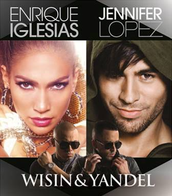Jennifer Lopez and Enrique Iglesias are touring together. Hot and hot!