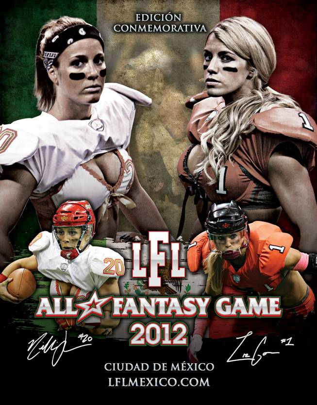The Las Vegas-based Lingerie Football League in Mexico.