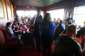 A full dining room is seen at Firefly in Henderson on Thursday, May 3, 2012.