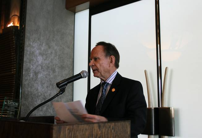 Hugo Torres, the former mayor of Rosarito Beach, Mexico and an owner of a hotel there, is traveling the United States with a contingent from Baja California to promote tourism. Torres said even though crime fell to its lowest rate ever in Rosarito in 2010, U.S. residents still perceive it as a dangerous place.