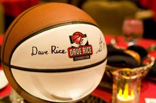 UNLV basketball coach Dave Rice hosts the inaugural event 'An Evening with Dave Rice, which benefits The Dave Rice Foundation, Friday May 4, 2012. The foundation helps educate and support health initiatives concerning autism and other developmental disorders.
