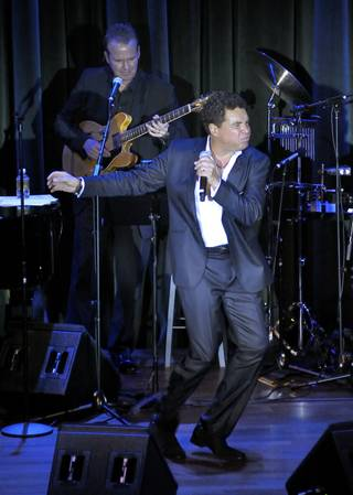 Clint Holmes performs at Cabaret Jazz in the Boman Pavilion at the Smith Center for the Performing Arts on Friday, May 4, 2012.