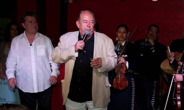 Senor Frog's grand opening and tequila toast with Robin Leach ...