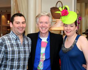 Philip Treacy at the Wynn