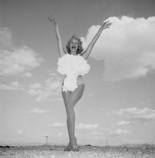 The original Miss Atomic Bomb.