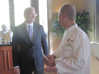 Nobu Matsuhisa at Caesars Palace on Friday, May 11, 2012.