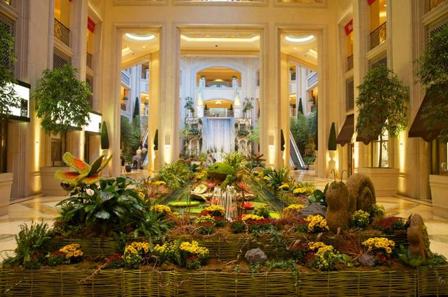 A past summer themed exhibition located in the atrium between the Venetian and Palazzo.