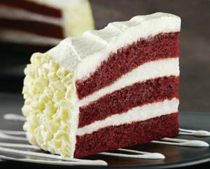 Red Velvet Cake at California Pizza Kitchen.