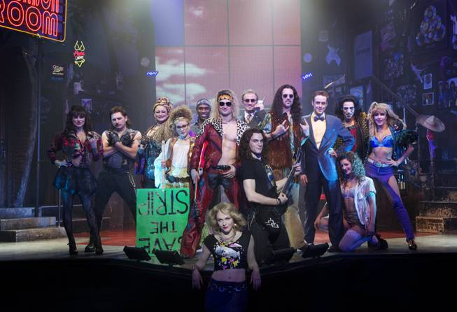 'Rock of Ages' on Broadway